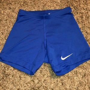 EUC Nike volleyball compression shorts